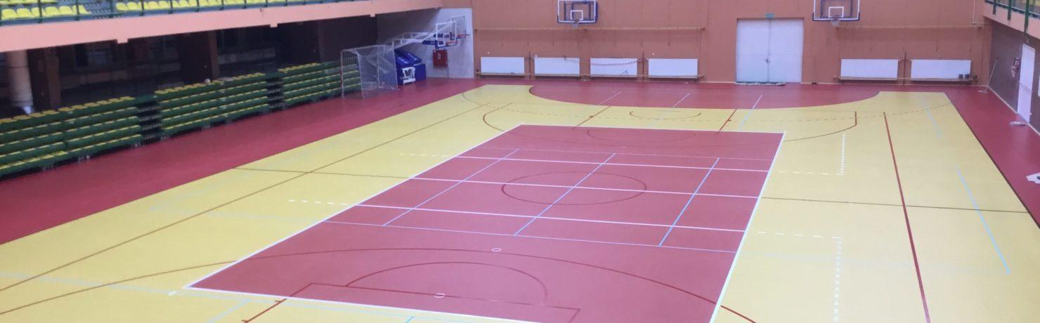 Podłoga sportowa Iława