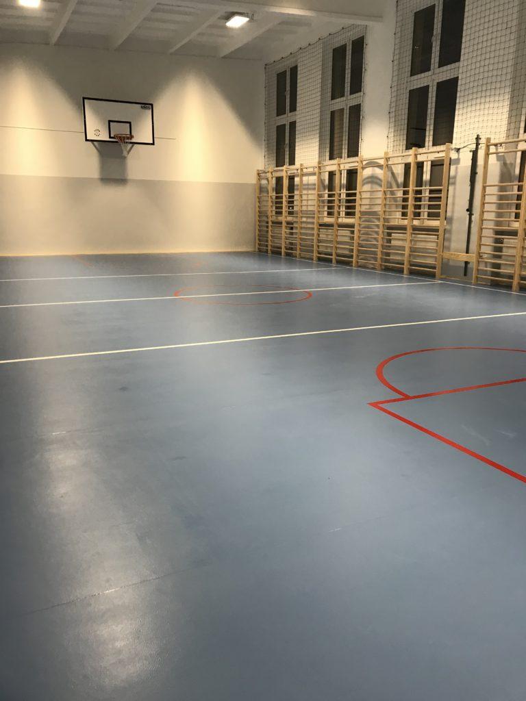 Modernizacja sali gimnastycznej SP 3 Kętrzyn Sp3